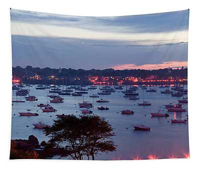 Panoramic Of The Marblehead Illumination Tapestry