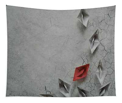 Paper Boats Tapestry