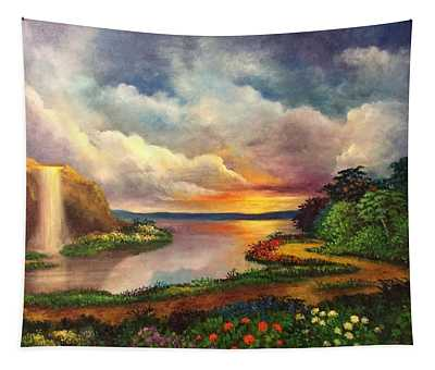 Paradise And Beyond Tapestry