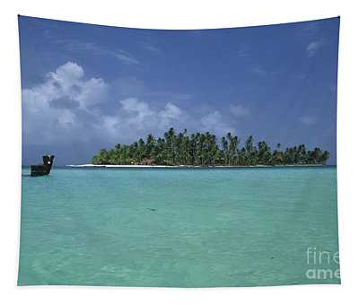 Paradise Island 2 Tapestry