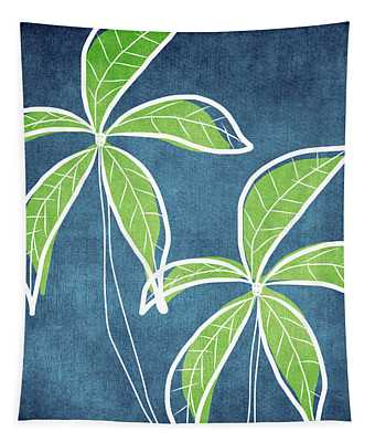 Paradise Palm Trees Tapestry
