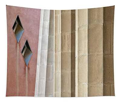 Park Guell Pillars Tapestry