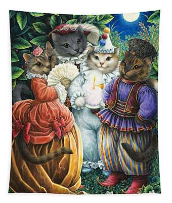 Party Cats Tapestry