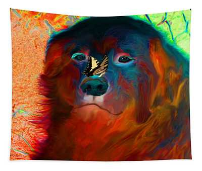 Party Pyrenees Tapestry