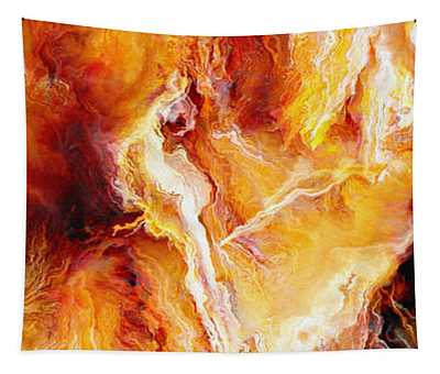 Passion - Abstract Art Tapestry