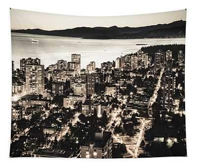 Passionate English Bay Mccclxxviii Tapestry