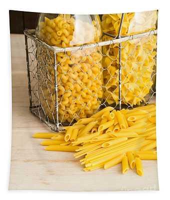 Pasta Shapes Still Life Tapestry