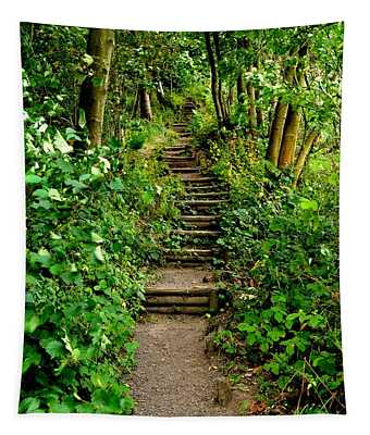 Path Into The Forest Tapestry