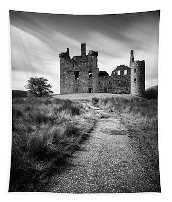 Path To Kilchurn Castle Tapestry