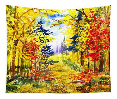 Path To The Fall Tapestry