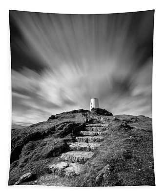 Path To Twr Mawr Lighthouse Tapestry