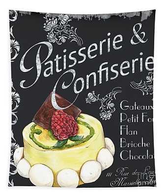 Patisserie And Confiserie Tapestry