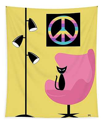Peace Symbol Tapestry