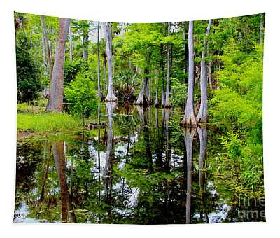 Peaceful Lake Tapestry