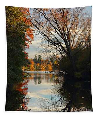 Peaceful October Afternoon Tapestry