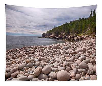 Pebbles On The Beach, Cobblestone Tapestry