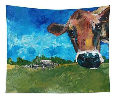 Peeping Bessie Tapestry
