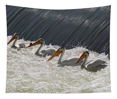 Pelican Four Tapestry