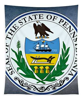 Pennsylvania State Seal Tapestry