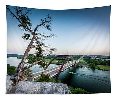 Pennybacker Bridge Austin Tapestry