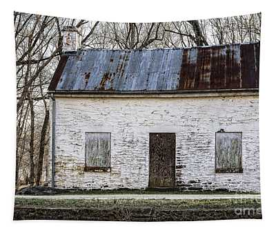Pennyfield Lockhouse On The C And O Canal In Potomac Maryland Tapestry