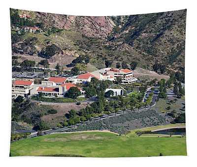 Pepperdine University On A Hill Tapestry