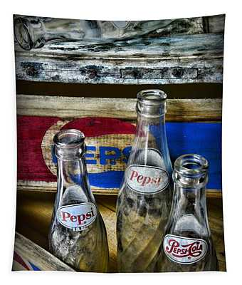 Pepsi Bottles And Crates Tapestry