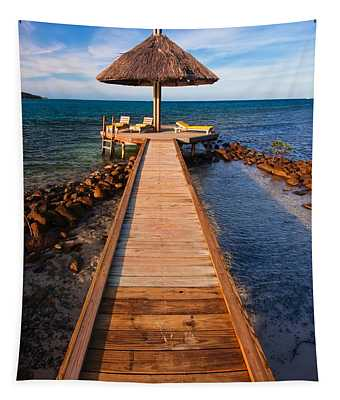 Perfect Vacation Tapestry