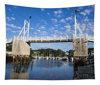 Perkins Cove - Maine Tapestry