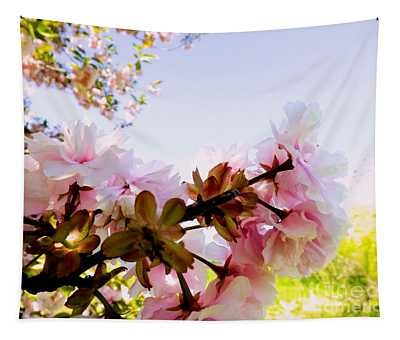 Petals In The Wind Tapestry