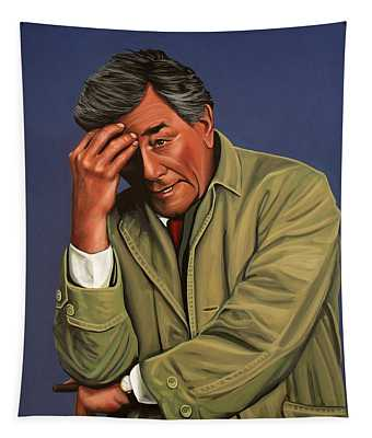 Peter Falk As Columbo Tapestry