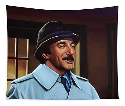 Peter Sellers As Inspector Clouseau  Tapestry