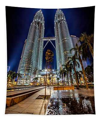 Petronas Twin Towers Tapestry