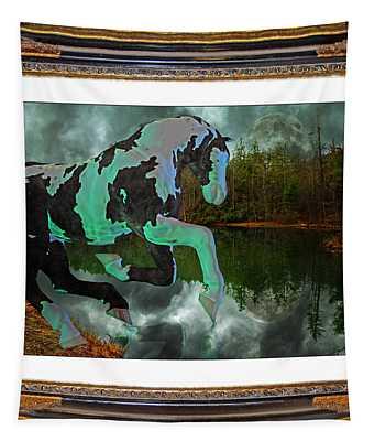 Phantom On The Lake Tapestry