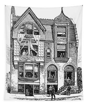 Philadelphia Bicycle Club Tapestry