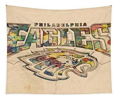 Philadelphia Eagles Poster Art Tapestry