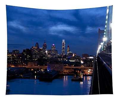 Philadelphia Twilight Tapestry