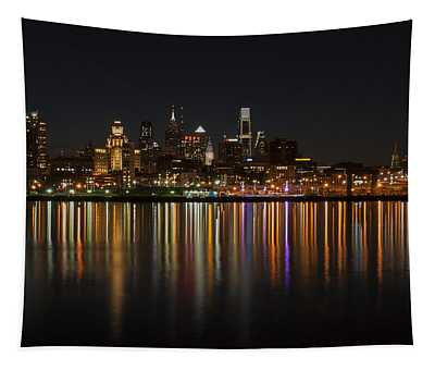 Philly Night Tapestry