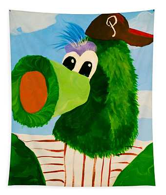 Philly Phanatic Tapestry