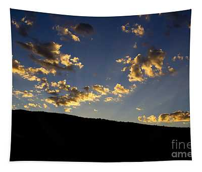 Philmont Sunset Tapestry by Sheldon Perry