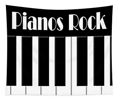 Pianos Rock Tapestry