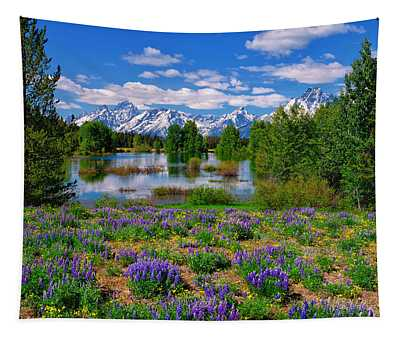 Pilgrim Creek Wildflowers Tapestry