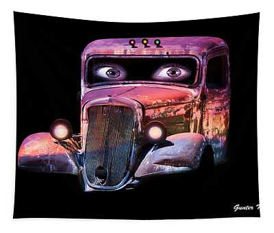 Pin Up Cars - #3 Tapestry