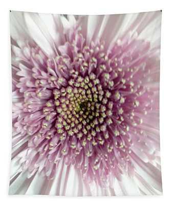 Pink And White Chrysanthemum Tapestry