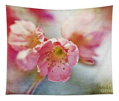 Pink Blossom Tapestry