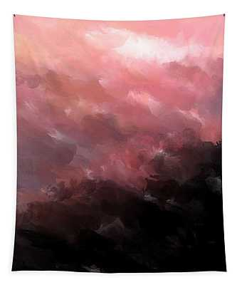 Pink Clouds Tapestry