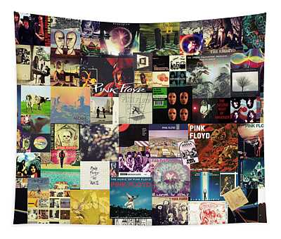 Pink Floyd Collage I Tapestry