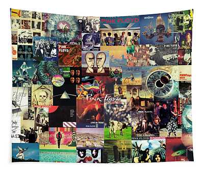 Pink Floyd Collage II Tapestry