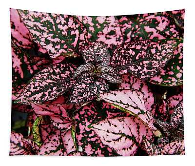 Pink - Plant - Petals Tapestry