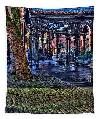 Pioneer Square In Seattle Tapestry